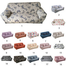 3 Seater Stretch Sofa Slipcover Protector 190-230cm Florals Print Couch Cover
