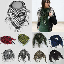 Unisex Military Arab Tactical Desert Army Shemagh KeffIyeh Scarf Arab Scarves