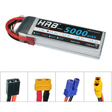 HRB 11.1V 5000mAh LiPo Battery 3S 50C 100C for RC Airplane Helicopter Drone Car