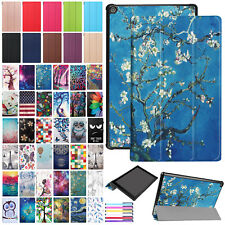 Smart PU Leather Slim Folio Stand Case Cover For Amazon Kindle Fire HD 10 2017