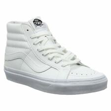 Vans Sk8-Hi Reissue True White Womens High-Top Laced Sneakers Casual Trainers