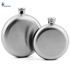 5oz/8oz Round Stainless Steel Hip Flask Alcohol Portable Pocket Flask Bar Tool