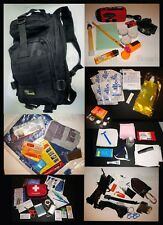 DELUXE 1-4 Person EMERGENCY SURVIVAL BUG OUT BAG DISASTER KIT 72HR 3 DAY ZOMBIE
