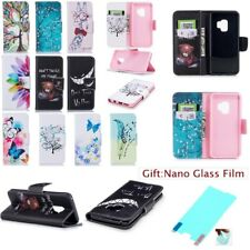 Fashion PU Leather TPU Rugged Flip Case Cover For Samsung Galaxy S / Note Series