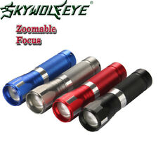 Zoomable 6000LM Flashlights LED T6 LED Light Torch Camping Hiking Lamp  -