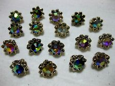 10 Pretty Buttons, different Patterns,Patterns selectable,approx. 10mm , K122