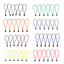 6pcs 15cm Ball Bungee Rope Canopy Tarp Ties Elastic Cords Tent Accessories