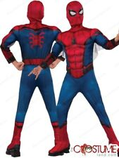 Homecoming Spider Man Deluxe Muscle Boys Costume by Rubies New Halloween Boy