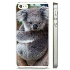 Koala Bear Fluffy Australian CLEAR PHONE CASE COVER fits iPHONE 5 6 7 8 X