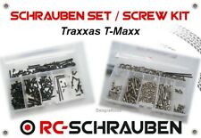 Screw Set for the Traxxas T-Maxx - Stainless Steel & Steel - ISK & IS