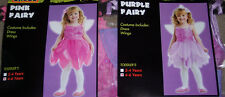 Fairy costume,Pixie,toddler' sz 4-6T,pink or purple,girls,pretend play,dress up