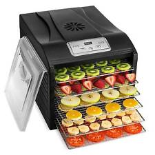 Stainless Steel Commercial pro Food and Jerky Dehydrator 10 Tray Magic Mill