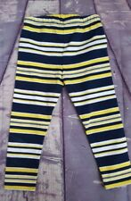 Ralph Lauren Infant Boy Nautical Striped Stretch Pants Navy Blue Sz 2T or 3T~NWT