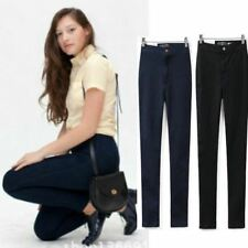Womens Vintage Brand Skinny Jeans Stretch Denim Pencil Pants