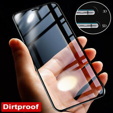 3D/4D/5D Tempered Glass Curved Full Screen Protector For iPhone X 8 5 6s 7 Plus