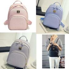 Vintage Women Girls Shoulder Bag Travel Rucksack PU Leather School bags Backpack
