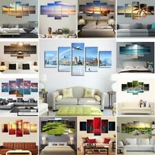 Canvas Print Oil Painting on Canvas 16 Wall Hanging Pictures Sea Sun Scenery