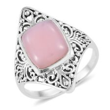 Artisan Crafted Peruvian Pink Opal Sterling Silver Ring  TGW 4.05 cts.