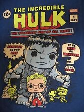 Marvel Collector Corps Incredible Hulk Items / DC Comics Most Wanted T Shirt NIP