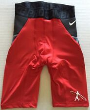 Men's Nike Pro Combat Dri-Fit Hyperstrong Baseball Swingman Compression Shorts