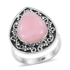 Artisan Crafted Peruvian Pink Opal Sterling Silver Ring  TGW 7.34 cts