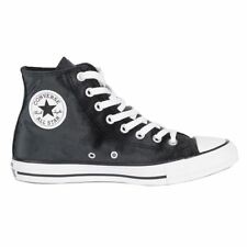 Converse Chuck Taylor All Star Hi Black White Womens Velvet High-top Trainers