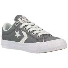 Converse Star Player Ev Ox Mason White Youth Canvas Low Top Trainers Shoes New