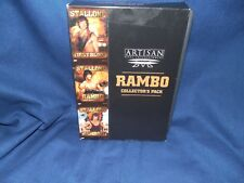 Rambo Collectors Pack (DVD, 1999, 3-Disc Set)