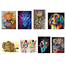 5D Diamond Painting DIY Animal Embroidery Cross Stitch For Home Room Decor