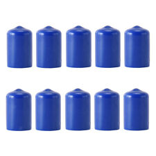 10x Pool Cue Tip Rubber Protector Pool Cue Head Cover Billiards Accessories