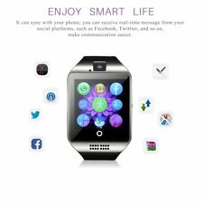 Q18 Smart Watch Touch Screen Bluetooth Wrist Watch For Android iPhone 32G TF