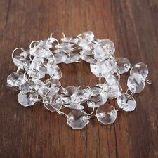 New Acrylic Crystal Bead Garland Chandelier Hanging Wedding Party Décoration C2D