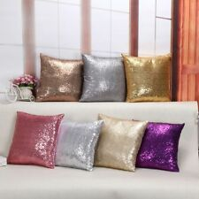 Pillow Cover Pillow Cases Mermaid Sequin Pillowcase 40*40cm Cushion Covers