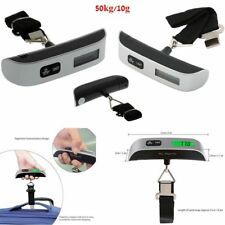 50kg/10g Portable LCD Digital Hanging Luggage Scale Travel Electronic Weights AV