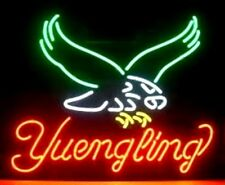 Yuengling Real Glass Tube Light Neon Sign Beer Bar Pub Handcrafted