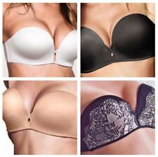 NEW Victoria's Secret Bombshell Miraculous Add-2-Cups Strapless Push-Up Bra $59