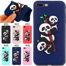 Rubber Silicone Skin TPU Soft Case 3D Cover Back For Apple iPhone 7 Plus/8 Plus
