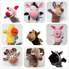 Family Cartoon Cute Animal Doll Kids Hand Puppet Soft Plush Toy Story Telling