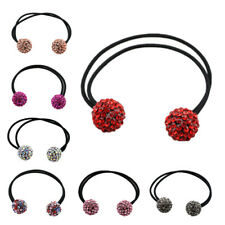 Girls Hair Band Tie Rope Ring Elastic Hairband Ponytail Holder Hair Bracelet