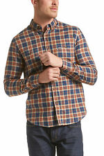 NEW JAG MENS Markus Long Sleeve Check Shirt Casual Shirts