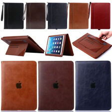 For New iPad 9.7 /Pro 10.5 2017 Genuine Leather Slim Case Smart Cover Flip Pouch