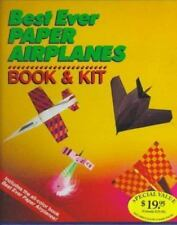 NEW Best Ever Paper Airplanes Book & Kit Create 100 Different Planes Instruction