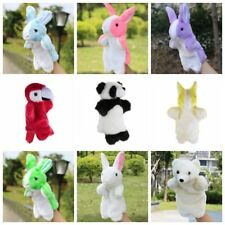 Animal Hand Puppet Baby Kids Plush Doll Baby Kids Story Telling Educational Toys