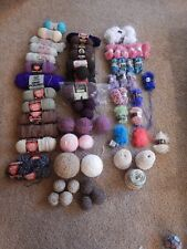 PICK A PC Red Heart, Lion Brand Worsted Weight, Fun Fur, Caron Cakes Yarn