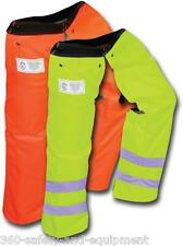 Chainsaw Safety Protective Full Wrap Chaps All New Slap Style Chainsaw Chaps