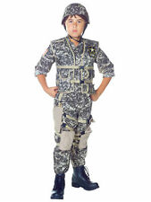 Army Ranger Deluxe Military Army Soldier Uniform Book Week Boys Costume
