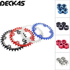 DECKAS BCD104mm Bike Chainring Single Speed Narrow Wide Chain ring 32/34/36/38T