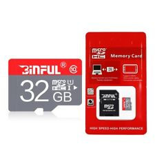 32GB Class 10 Micro SDHC Memory Card 32 GB High Speed Micro SDHC with Adapter