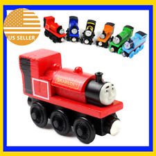 New James Friend Wooden Magnetic Tank Engine Railway Baby Mini Train US Seller