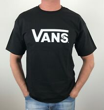 100% AUTHENTIC MENS VANS OFF THE WALL ORIGINAL TEE  SIZE L BLACK  *BRAND NEW*